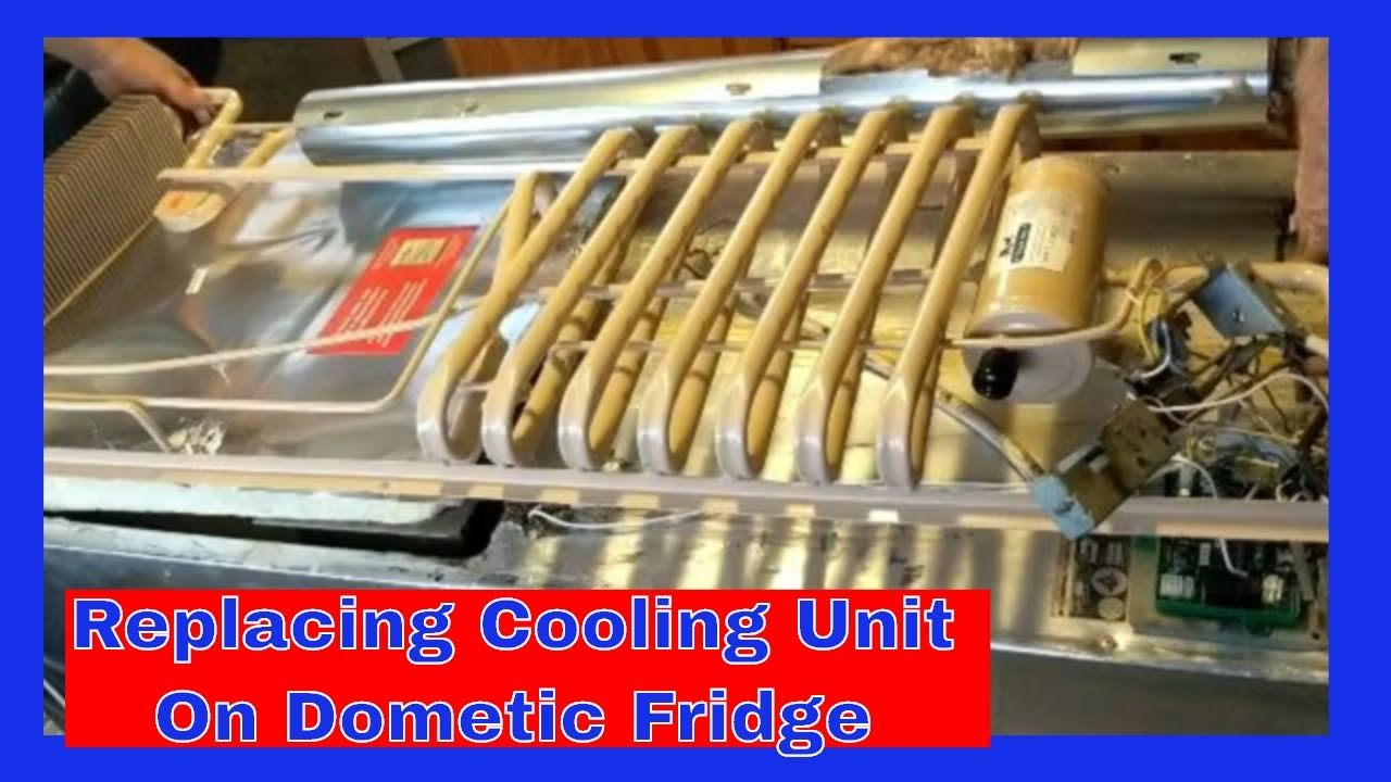 V 118 Replacing Cooling Unit On Dometic Rm 3807 Cooling Unit Rv