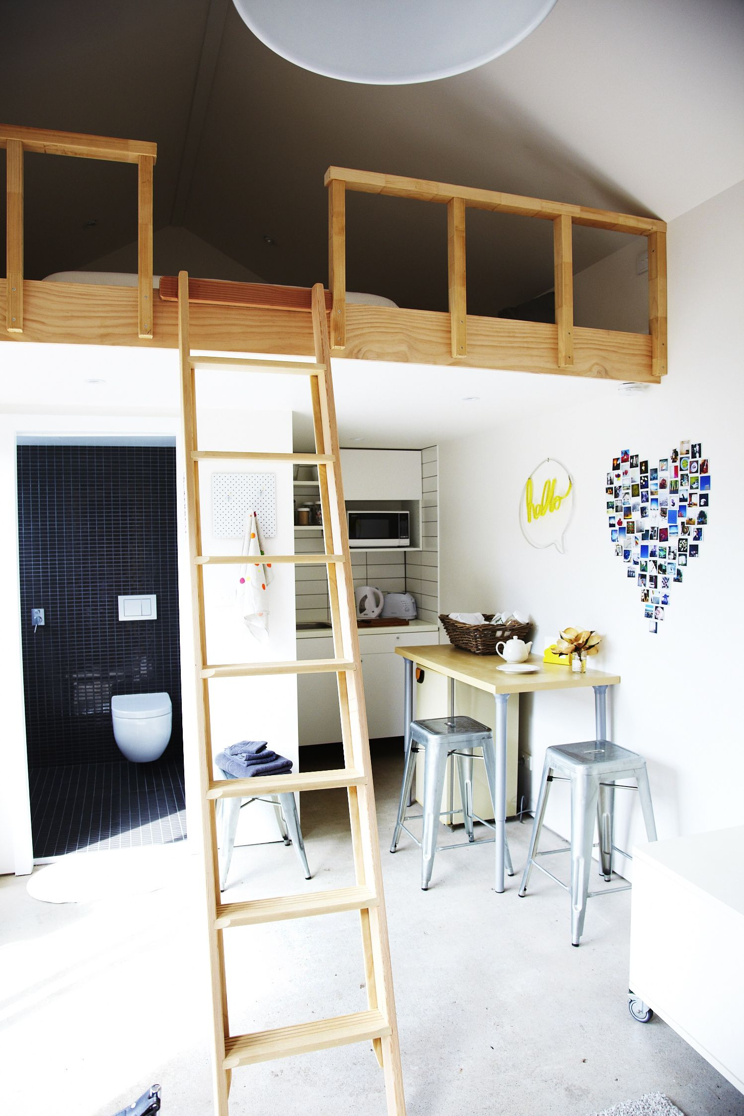 The Garden Studio With Loft Bed Loft Bed Studio Apartment