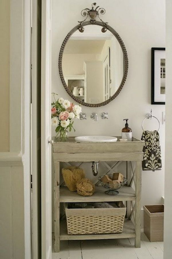 Image Result For Vintage Modern Rustic Bathroom Pinterest Cottage Bathroom Diy Bathroom Vanity Vanity Design