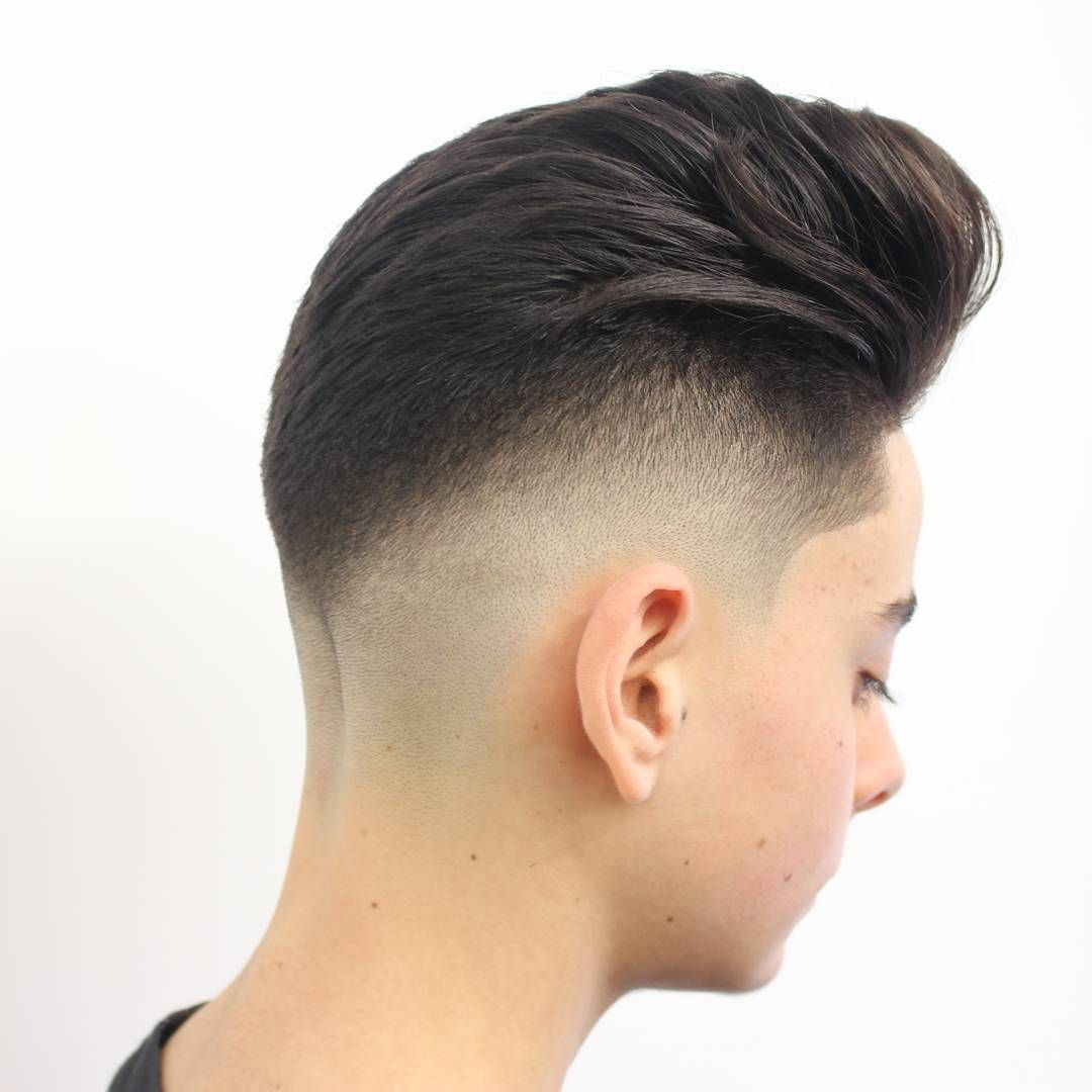 Different types of fade haircuts for men pompadour hairstyles for men  pompadour hairstyles for men