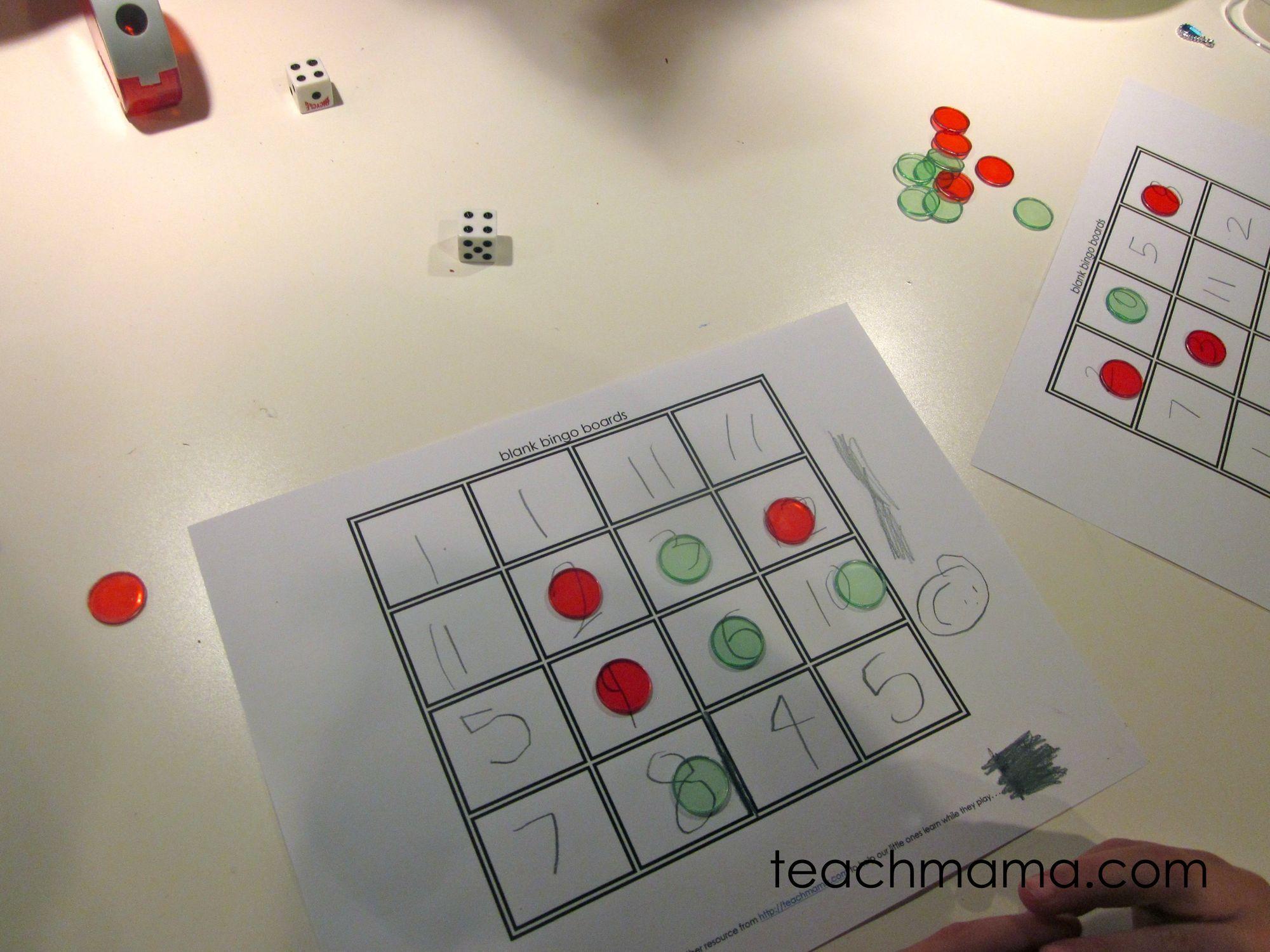 Math Bingo Fun Ways To Play With Numbers
