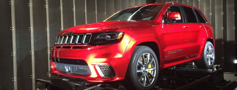 2018 Jeep Grand Cherokee Trackhawk Revealed Jeep Grand Cherokee
