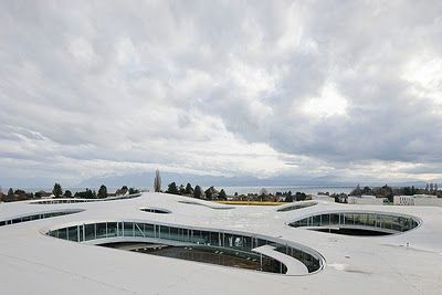 Rolex Learning Centre by (SANAA)