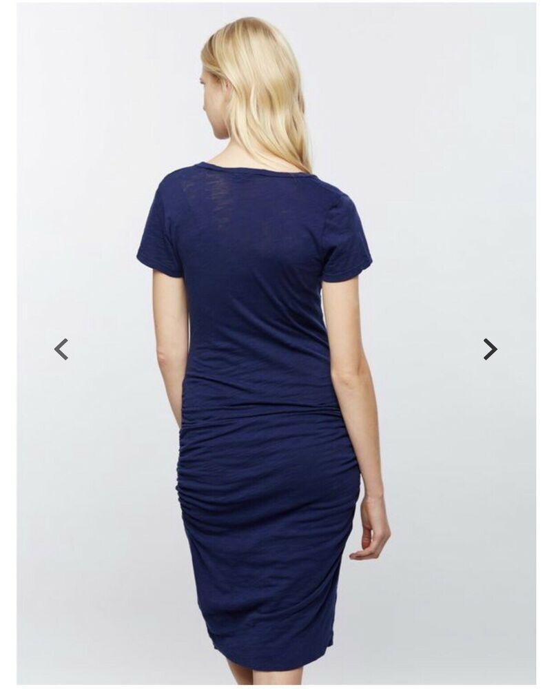 3919f5f814 Monrow Side Ruched Maternity Dress (Size Medium)(Navy) #fashion #clothing