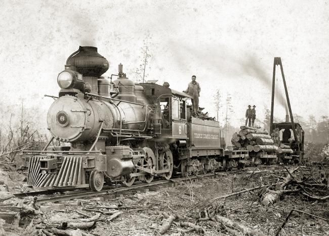 Lumber Trains Temple Lumber Company Engine 6 Trains