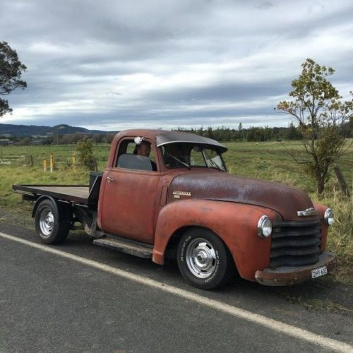 1948 53 Holdens Body Chev Truck Cab Mounted Onto Holden One Tonne