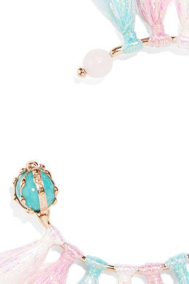 Rosantica Rosantica Woman Baby Tinsel, Turquoise And Quartz Bracelet Pink Size ONESIZE