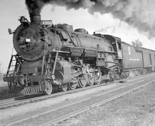 D Rgw Train Engine Number 1702 Engine Type 4 8 4 Western History Baltimore And Ohio Railroad Railroad Photography Train