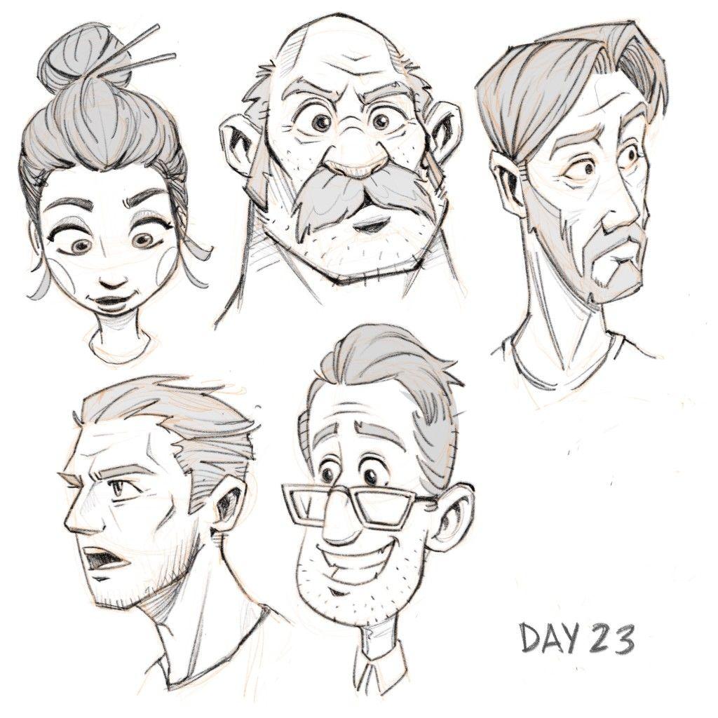 Faces Character Design Cartoon Character Design Character Sketches Character Design Animation