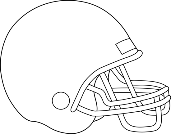 Blank Football Helmet For Coloring Free Clip Art Football Coloring Pages Football Helmets Football