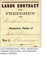 CONTRACT SYSTEM   Directly after the War, Plantation owners ...