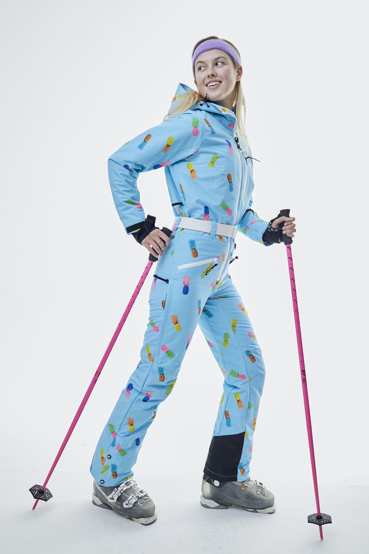 Club Tropicana Women S One Piece Ski Suit Oosc Clothing One Piece For Women Ski Women Clothes