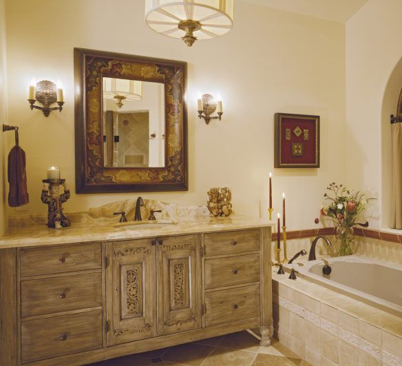 Bathroom Royal Bathroom Design With Carving Vanity