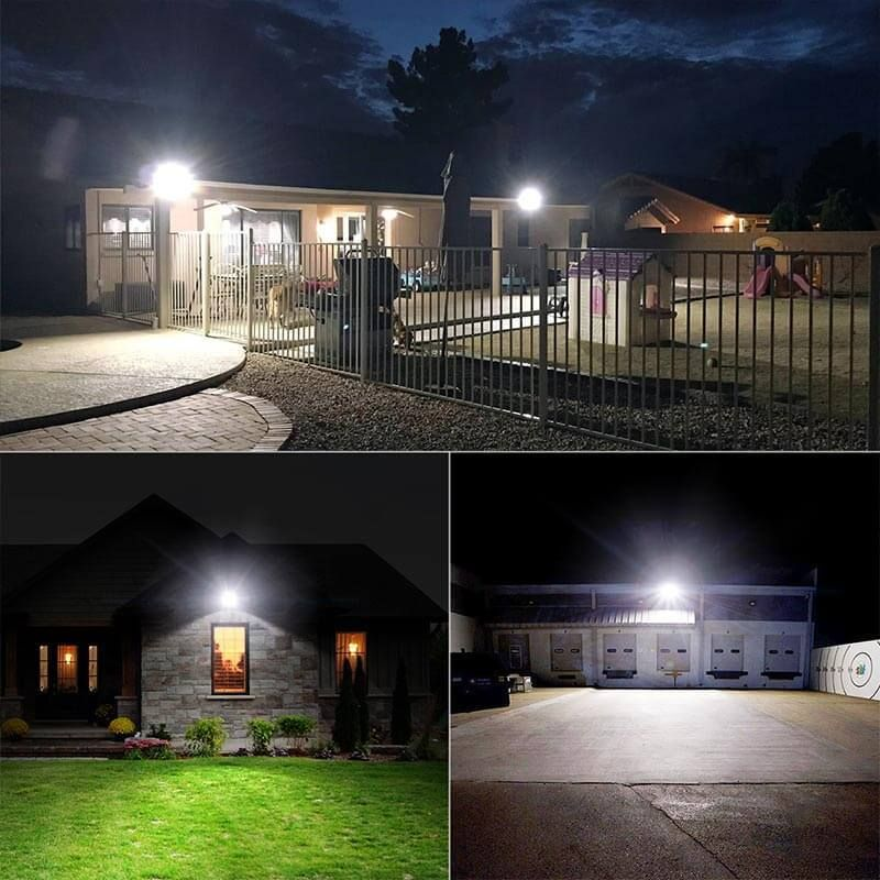 60w Led Flood Light 2 Pack 6600lm 300w Halogen Bulb Equivalent Ip66 Waterproof Outdoor Floodlights Us Standard Outdoor Flood Lights Led Flood Lights Flood Lights