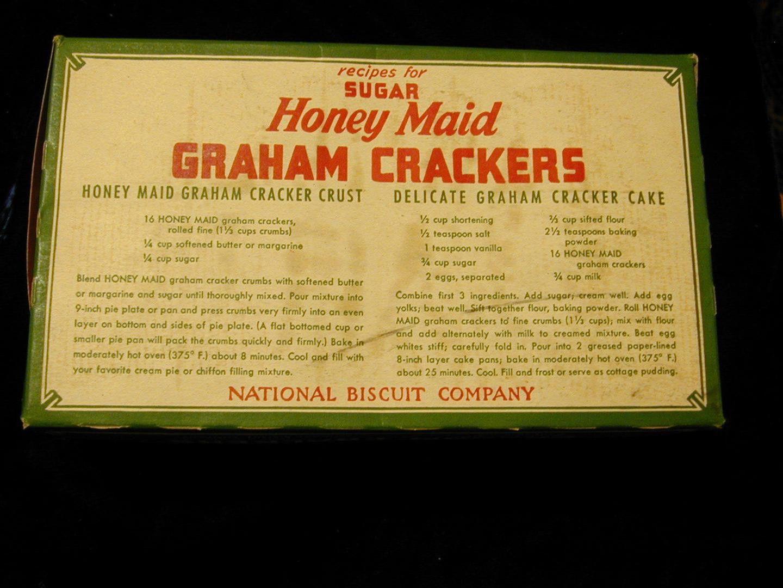 Image Result For Vintage Graham Cracker Crust Recipe Honey Maid Graham Crackers Honey Maid Graham Cracker Crust Honey Maid