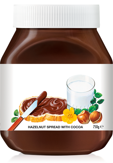 Pin De Jenny Heroes Em Food Art Nutela Kit Confeiteiro Nutella