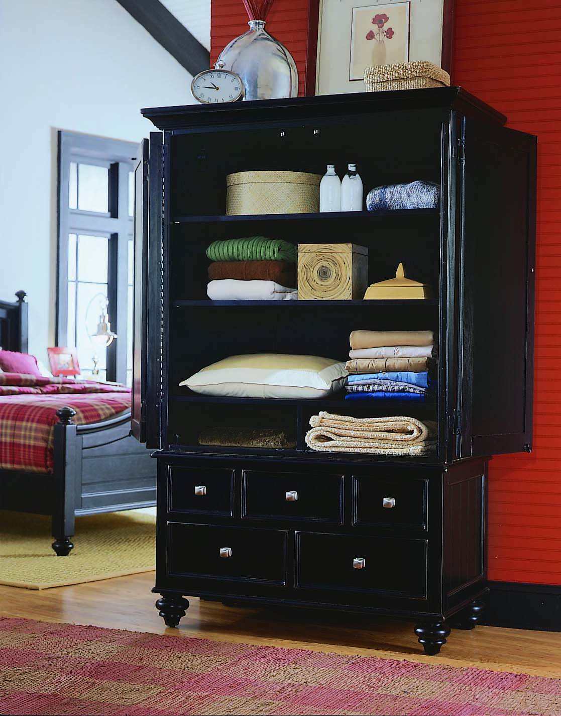 Running Low On Closet Space A Large Storage Cabinet From