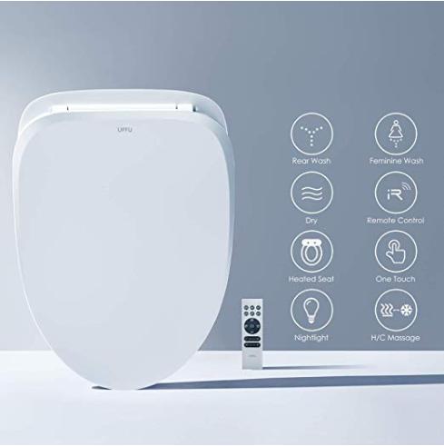 Wondrous Smart Toilet Seat Uffu Advanced Bidet Toilet Seat Wireless Alphanode Cool Chair Designs And Ideas Alphanodeonline