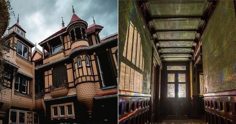 Winchester Mystery House Is Now Offering Virtual Tours To Horror Fans Stuck At Home Winchester Mystery House Haunted Houses In America Houses In America