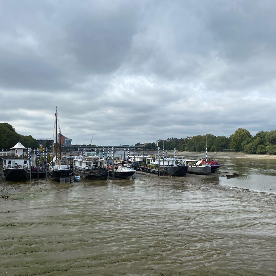 Low tide at lunchtime in Putney. #nofilter #Londonlife