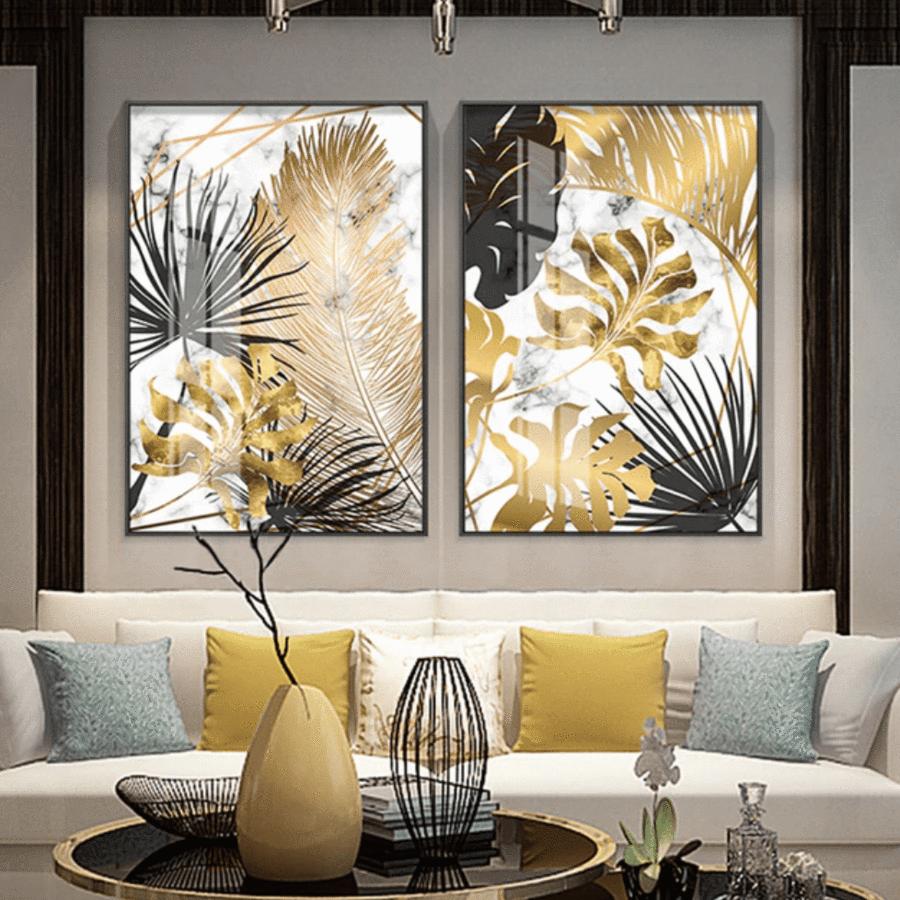 Golden Leaf Canvas