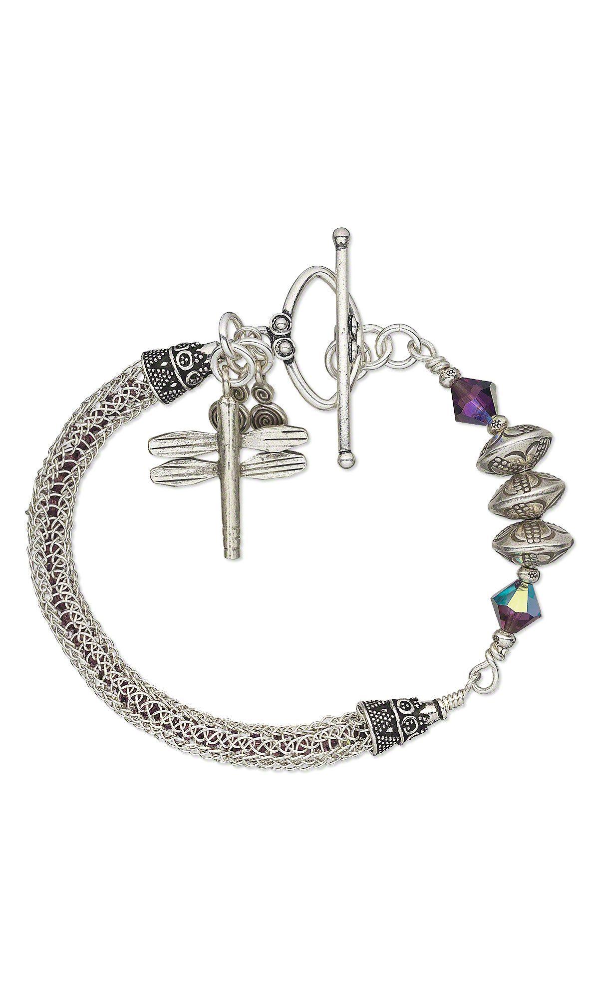 Viking Knit Bracelet | diy jewelry | Pinterest | Drahtschmuck ...