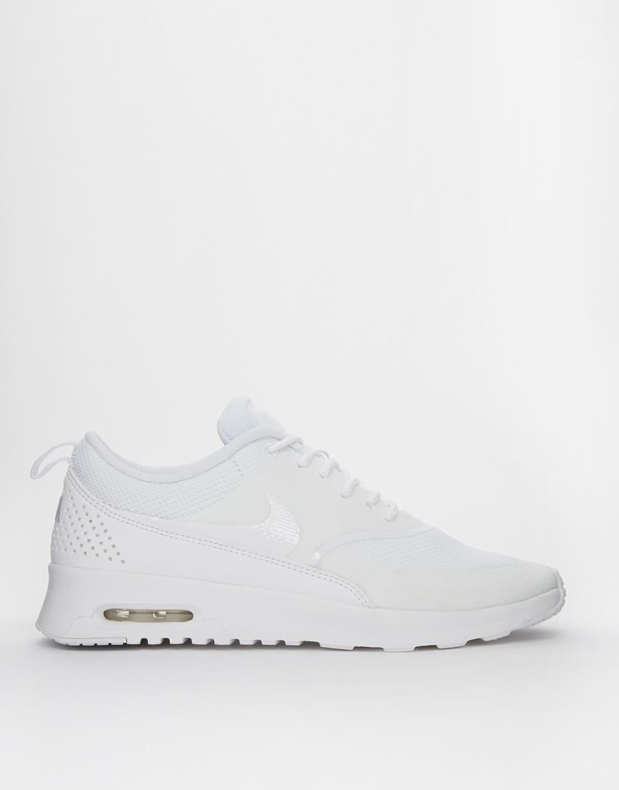 image 2 of nike air max thea white trainers keep on. Black Bedroom Furniture Sets. Home Design Ideas
