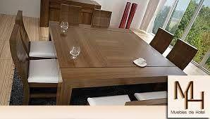 mesa cuadrada para 8 personas - Buscar con Google | Muebles ...