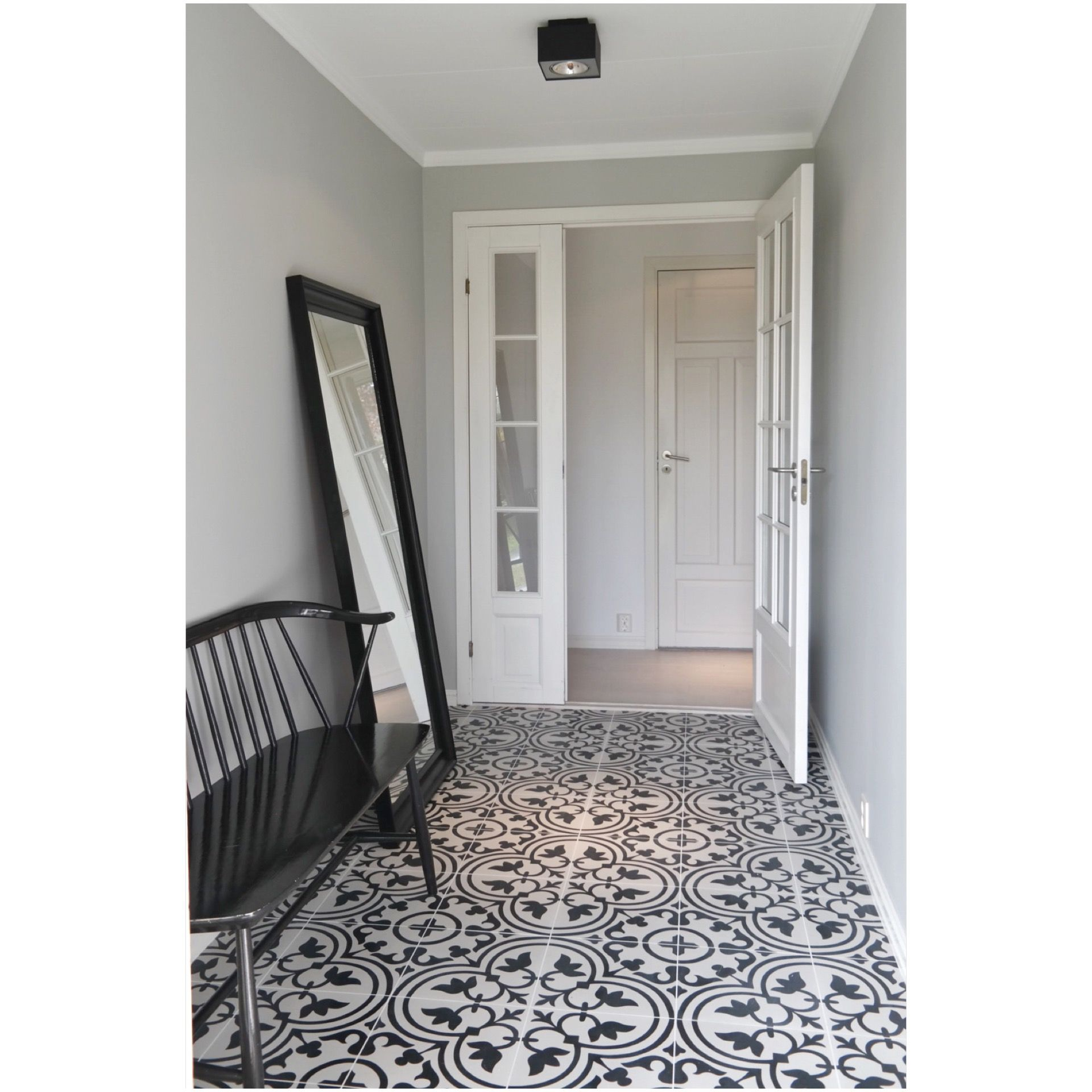 My hall entryway apavisa hydraulic ceramic tiles from bergersen