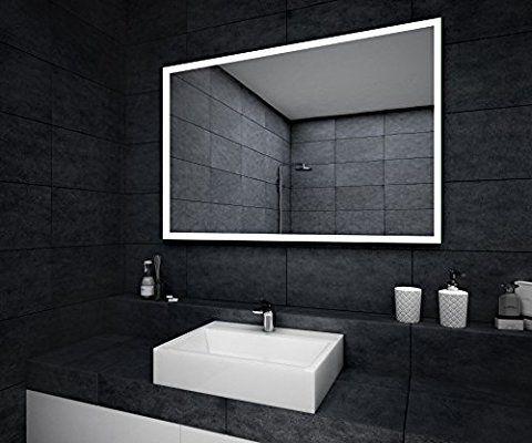 Design Badspiegel mit LED Beleuchtung Wandspiegel - badezimmer spiegel beleuchtung