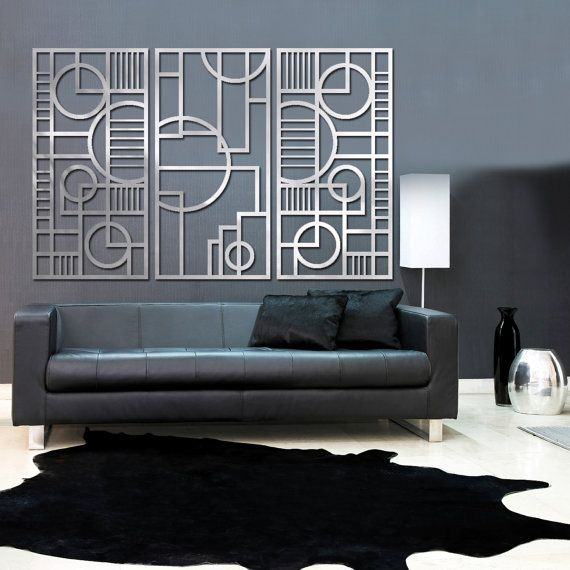 Deco Panel TRIO 23 X 46 In Brushed Aluminum FREE By Studio724, $629.00