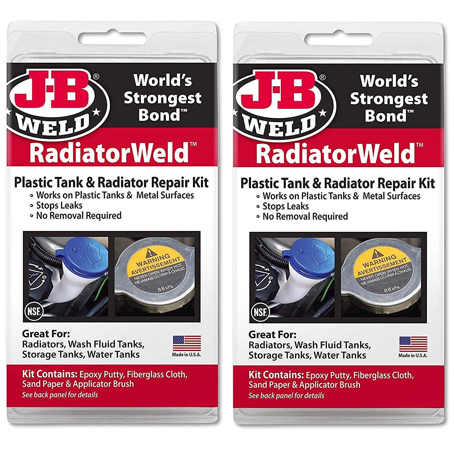 J B Weld 2120 Radiator And Plastic Repair Kit Pack Of 2 Check This Awesome Product By Going To The Link At The Image With Images Plastic Repair Radiator Repair Repair