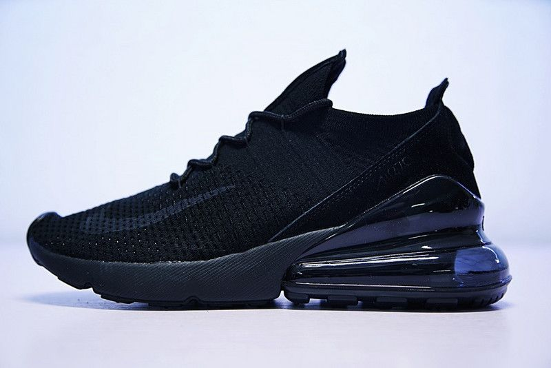 7b6e1dfe6fb4 Cheap Nike Air 270 Flyknit All Black AH6803 002 For Sale