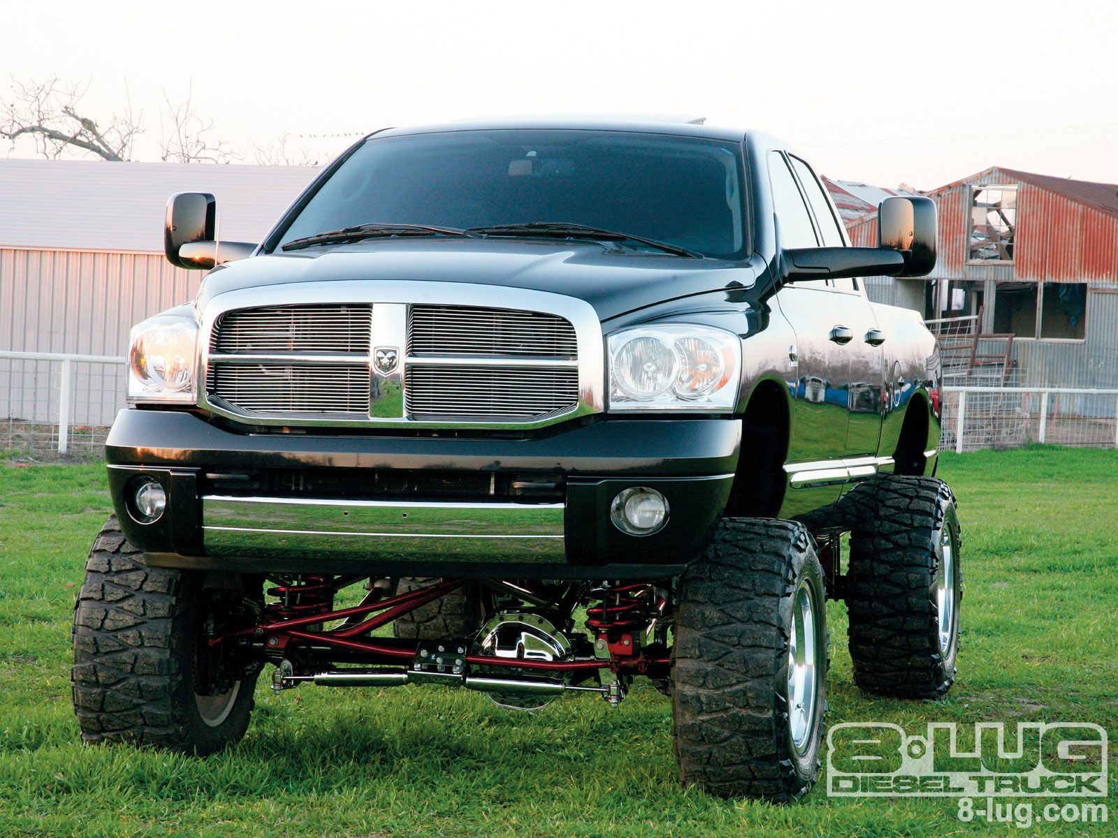 dodge_ram_2500+lifted_truck | Wish list | Pinterest | Dodge rams ...