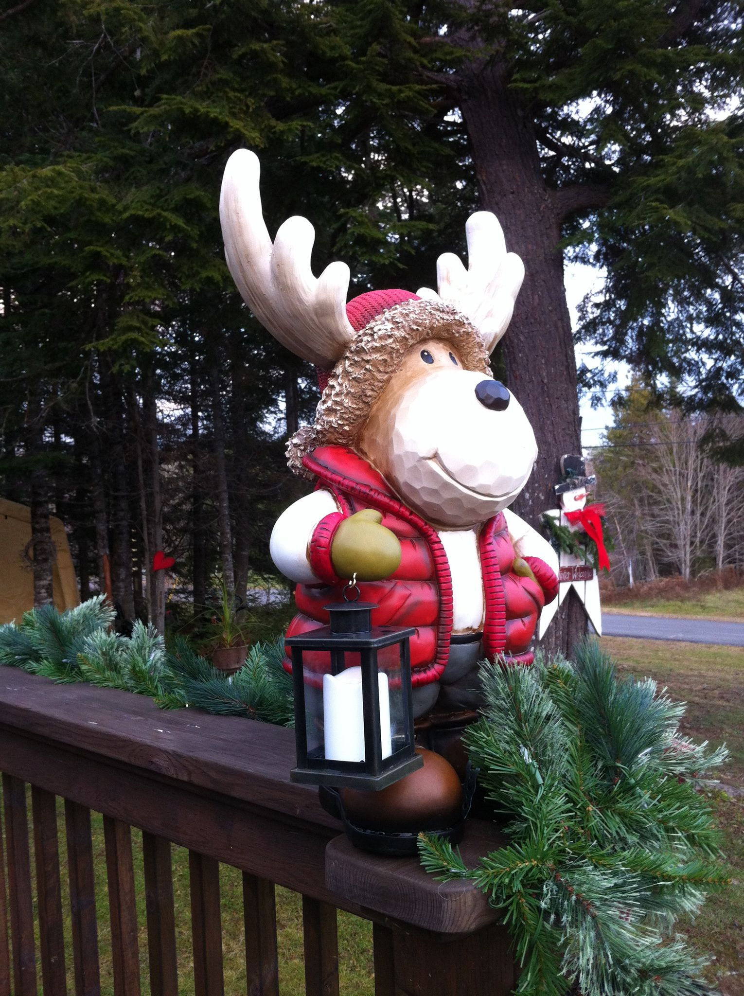 Christmas Decor Quot Moose Quot Bought At Costco Shawn
