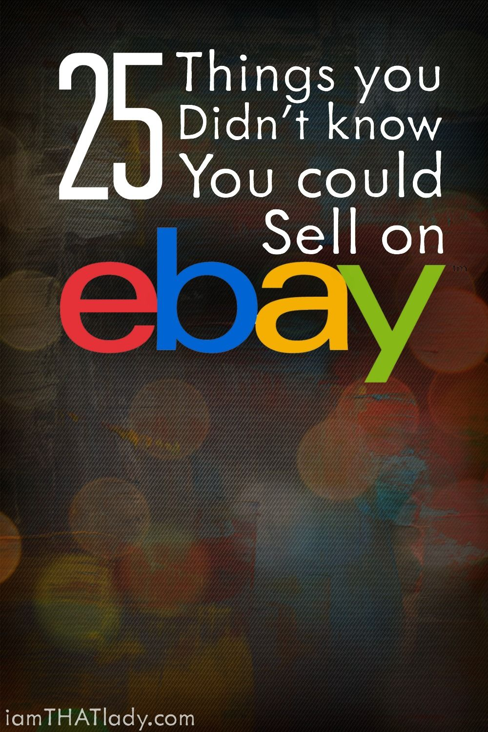 what can i sell online to make money 25 things you didn t know you could sell on ebay jobs at 8983