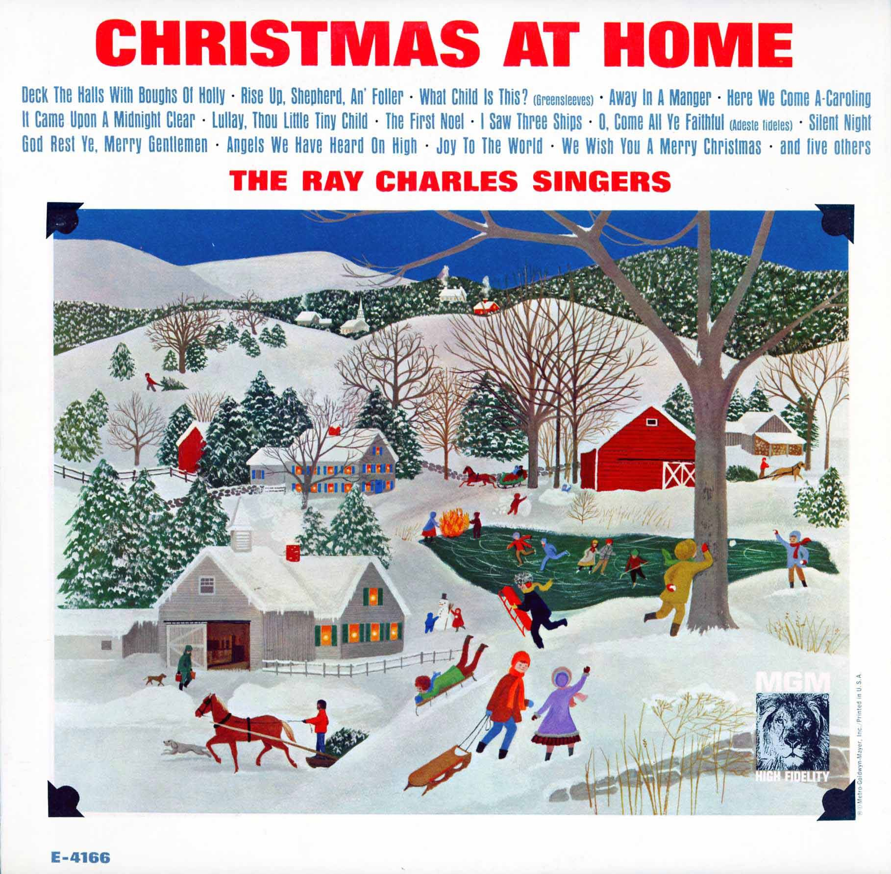 Ray Charles Christmas.Cd Charles Ray Singers Christmas At Home Everything