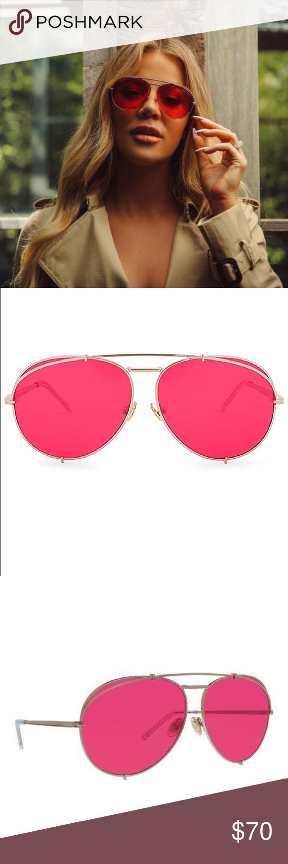 9a444329fd83c NWOT Diff Eyewear Koko Khloe Kardashian Sunglasses NWOT