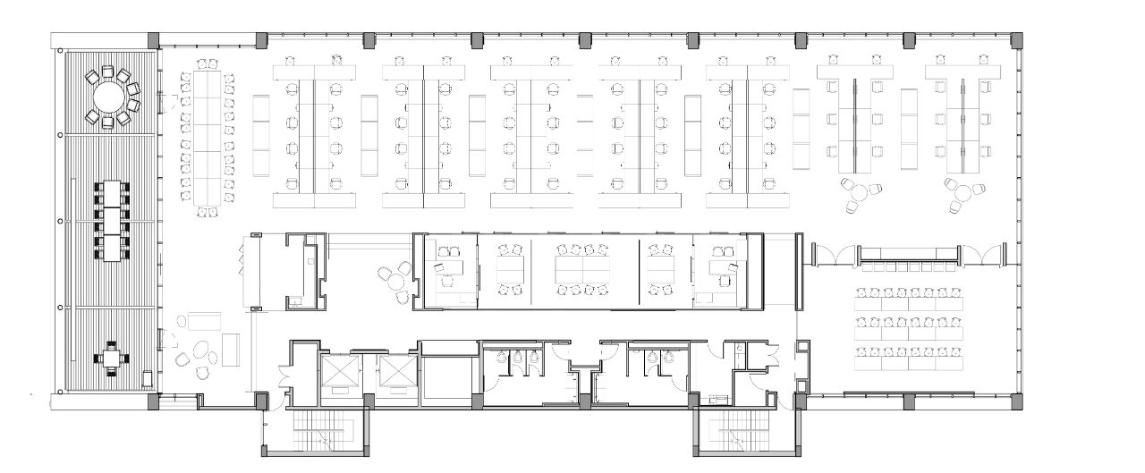 OPEN OFFICE FLOOR PLAN Recherche Google Design intrieur 2
