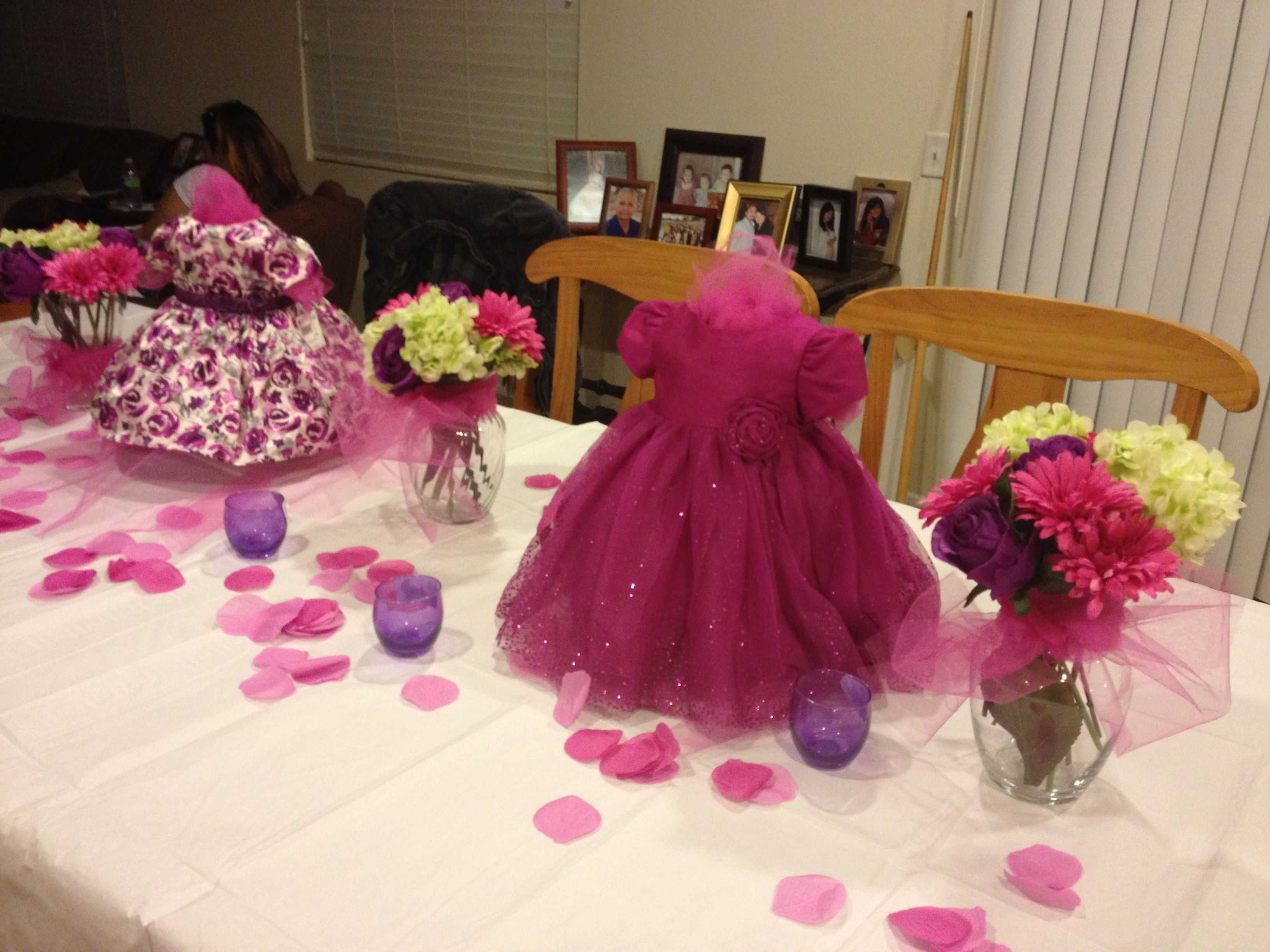 Baby girl shower centerpieces pinks and purples pinterest baby girl shower centerpieces reviewsmspy