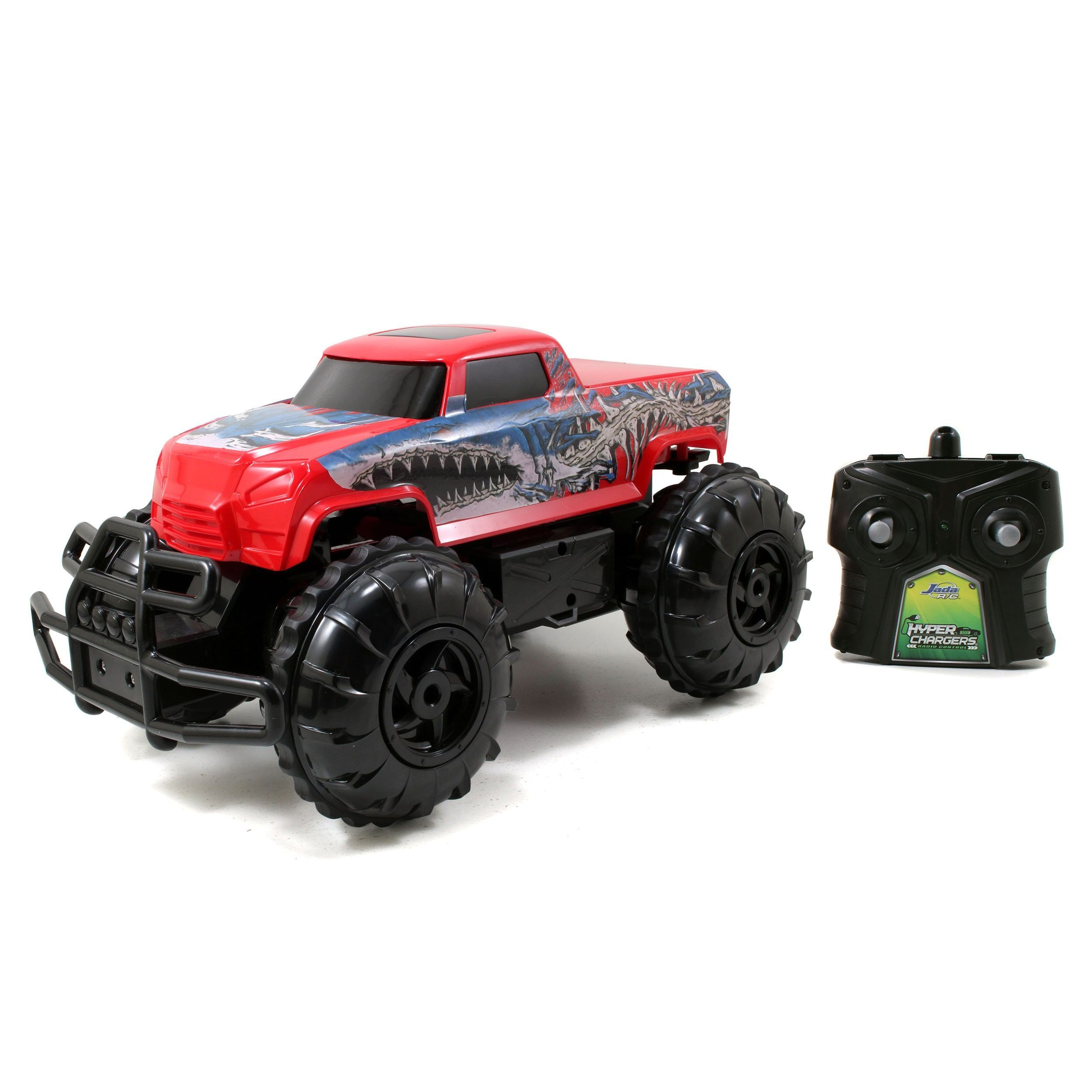 Jada car toys  Jada Toys HyperChargers Red Water and Land by Jada Toys