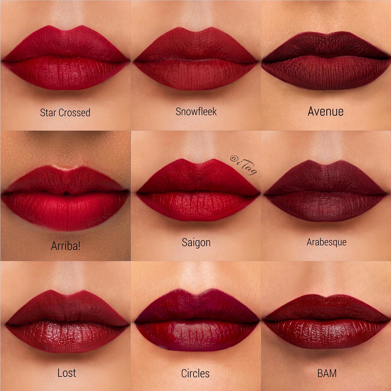 My Fave Red Dark Red Vampy Colours From Colourpop Ultra Matte Liquid Lipstick Dark Red Lipstick Makeup Red Lipstick Makeup Red Lipstick Matte