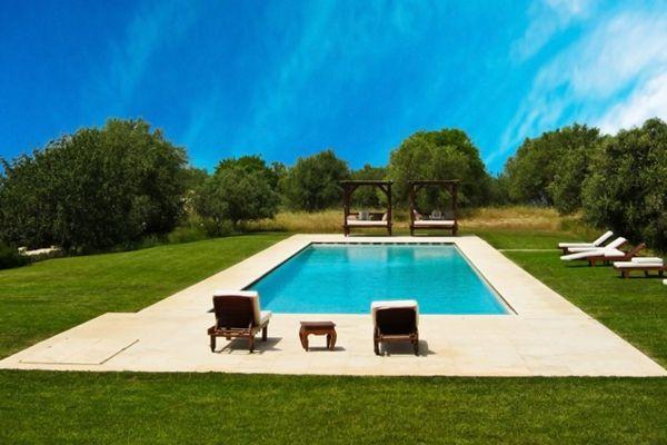 101 Bilder Von Pool Im Garten   Contemporary Hinterhof Pool Landschaft