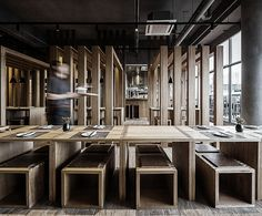 Restaurant Hanging Bar par Atelier JMCA - Buscar con Google