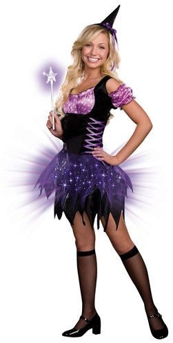 Purple and Black Light Up Witch Costume  sc 1 st  Pinterest & Purple and Black Light Up Witch Costume | Witch Costumes | Pinterest ...