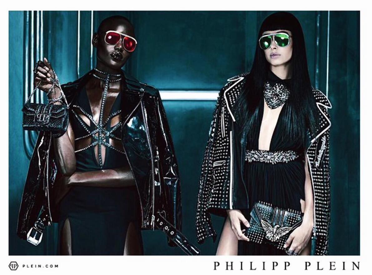 Le mannequin #HaileyBaldwin est égérie de la marque de vêtements de luxe #PhilippPlein.