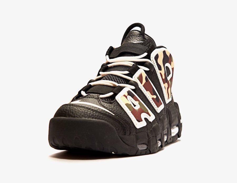 Nike Air More Uptempo Camo CJ6122 001 Release Date