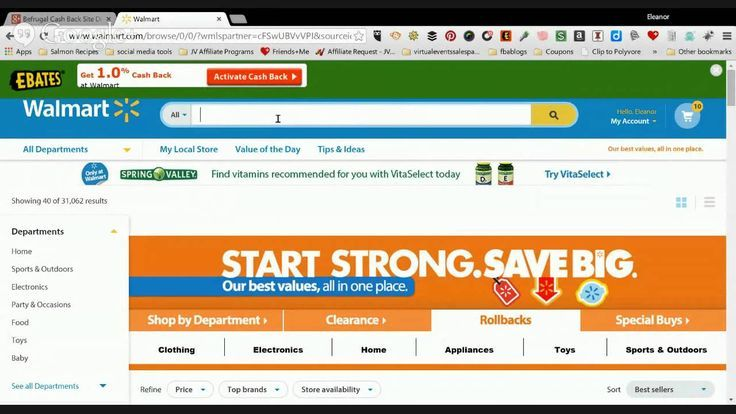 Befrugal Cash Back Site Demo and Review Ebates,