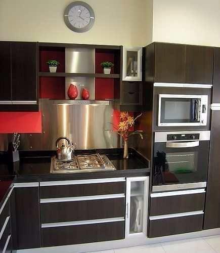 Resultado De Imagen Para Muebles De Cocina Modernos Pequenas