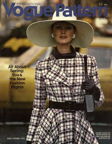 1970s Vogue Magazine Cover